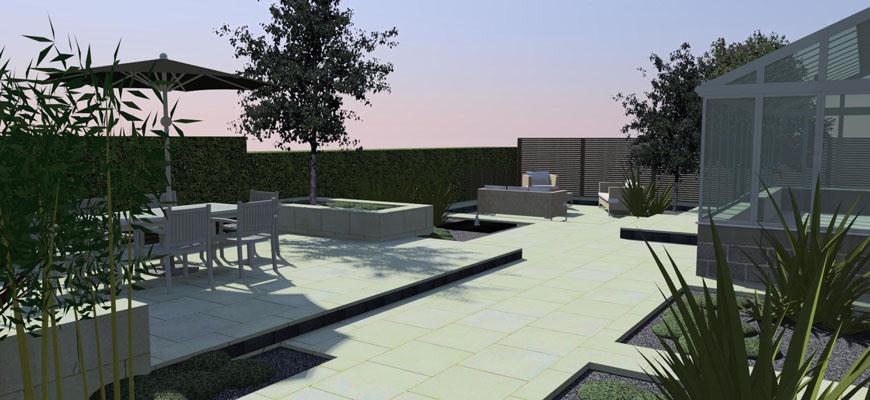 Landscape design derbyshire for Garden design derbyshire