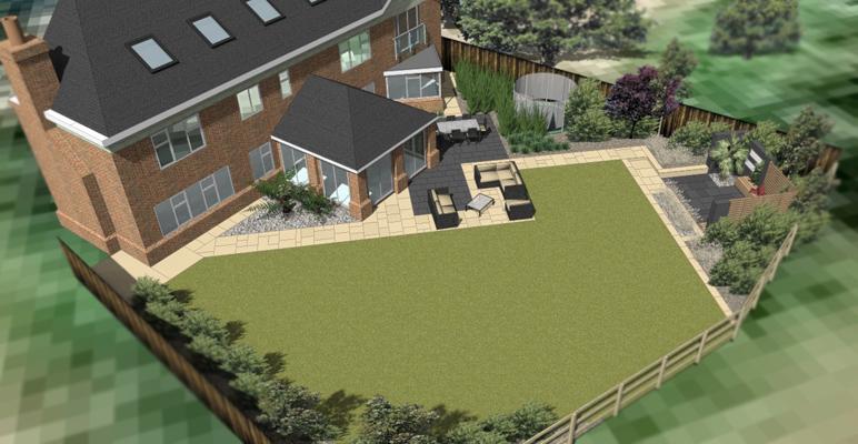 Garden Design Leicestershire, Nottinghamshire, Derbyshire.